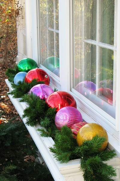 Easy Outdoor Christmas Decorations 1