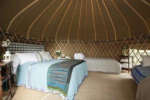 sharpened Yurt interiors