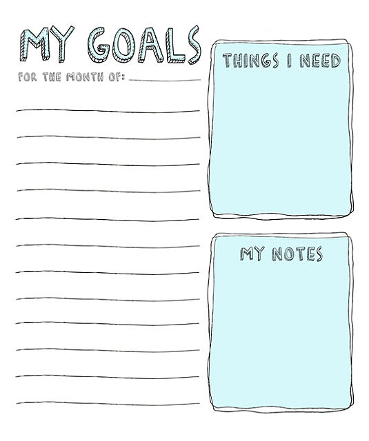 Monthly-Resolutions-Printable