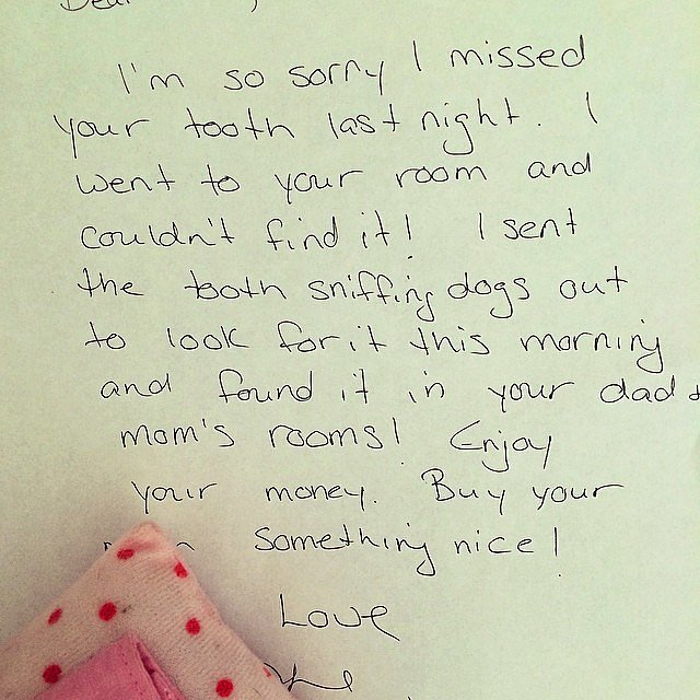 Hilarious Apology Notes From The Tooth Fairy Herfamilyie
