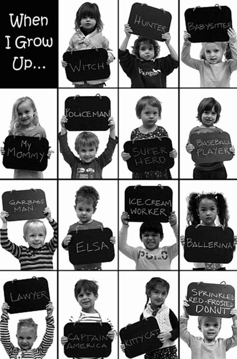 funny cute and creative career aspirations from young children my old school asked kids in preschool what they wanted to be when they grew up
