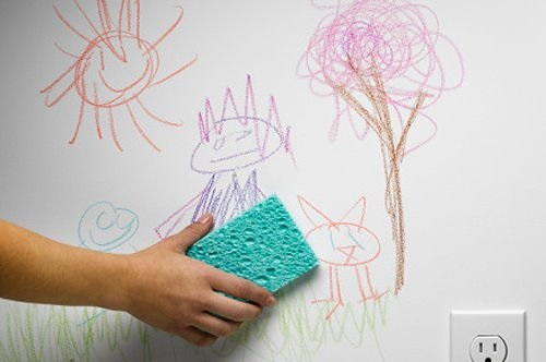 How-to-Get-Crayon-Marks-Off-Your-Walls