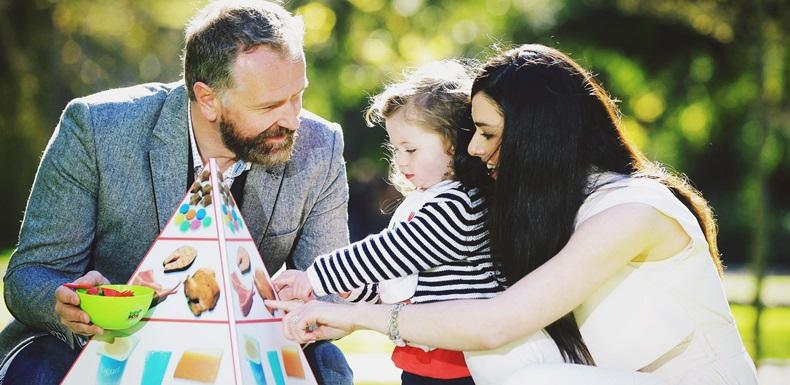 Parents to toddler Mícheál Óg, Dáithí Ó Sé and Rita Talty Ó Sé