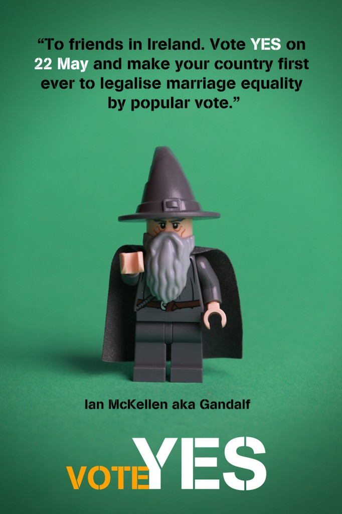 Finally, if Gandalf says it it shall be so.