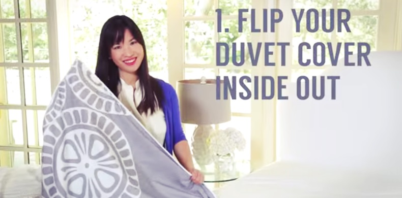 This Genius Duvet Cover Trick Will Change Your Life