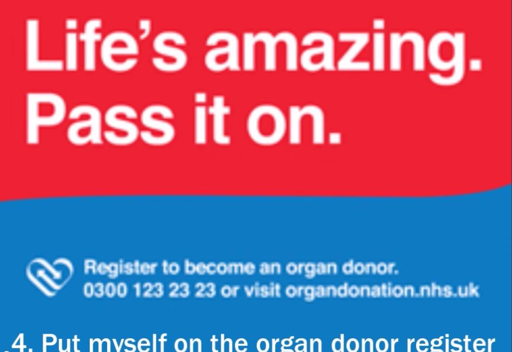 informative speech on organ donations