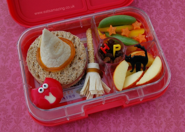 Harry Potter Themed Food Fun Packed Lunch Idea