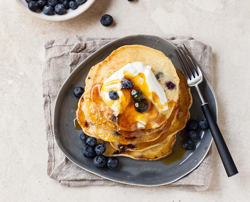 Blueberry-Ricotta-Pancakes