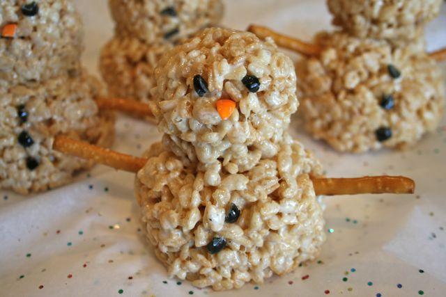 rice-crispie-snowman