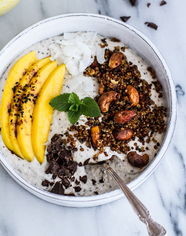 Coconut-Banana-Oats-Smoothie-Bowl-with-Crunchy-Black-Sesame-Quinoa-Cereal-+-Mango.-72