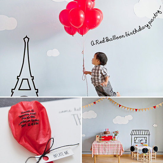 Parisian-Red-Balloon-Party