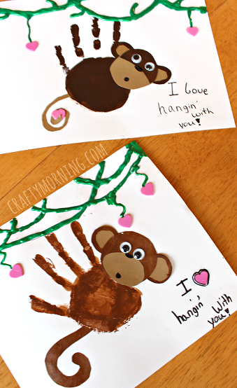 cute-handprint-valentine-monkey-craft-for-kids1