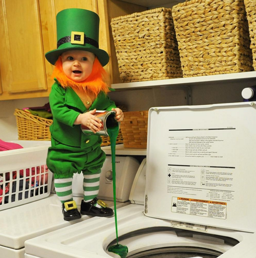 Dad Turns Baby into Leprechaun and It s Genius  2a956990ed0
