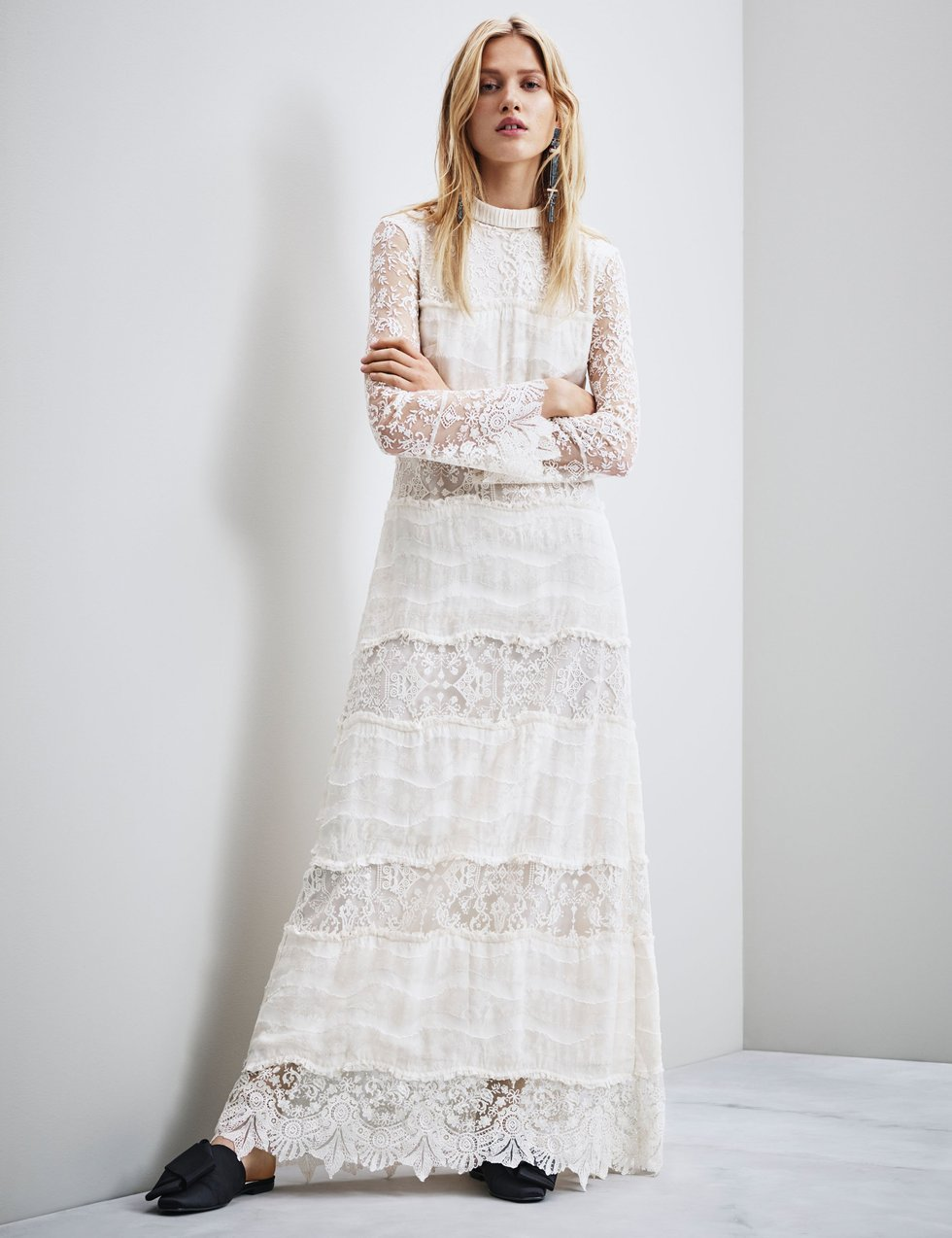 H&M Launches Super-Affordable Ethical Wedding Dress Collection ...