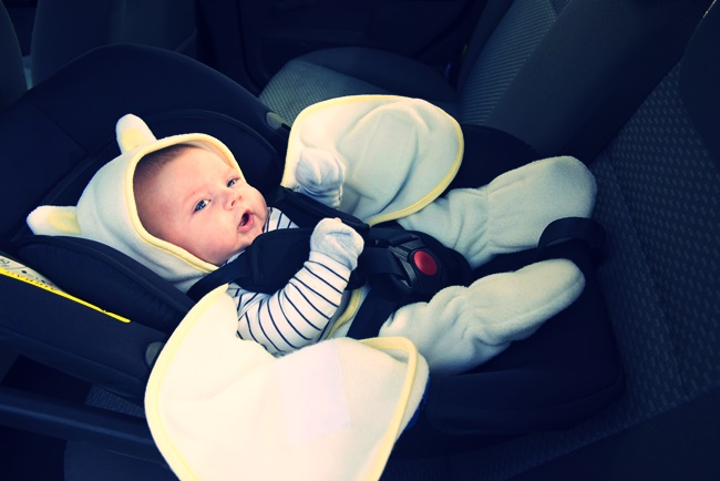 Testing Baby Car Seats At High Speed