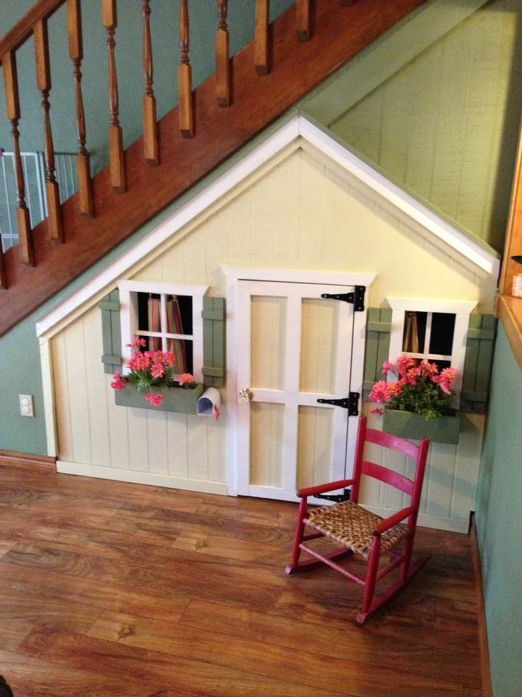 5 Super Cool Kiddie Play Area Ideas For Under Your Stairs Herfamily Ie