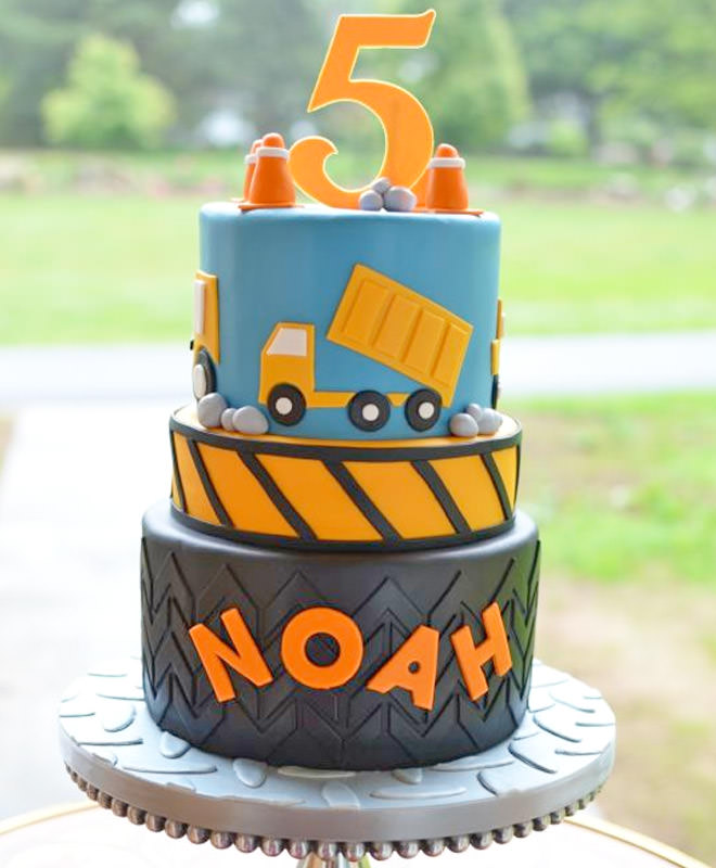 10 constructionthemed birthday cakes any little person will dig