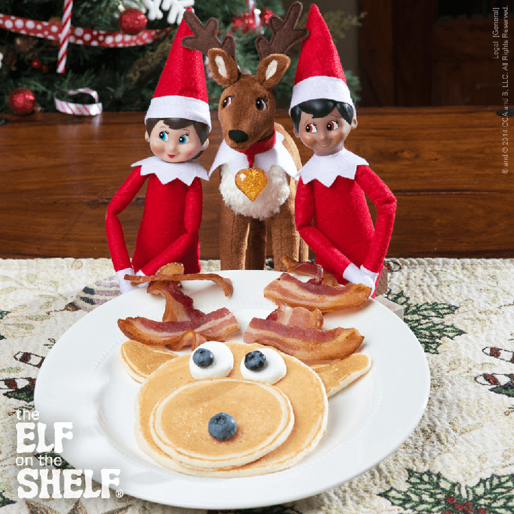 Elf Pets Pancakes