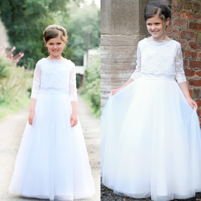 performance sportswear great prices to buy Five adorable First Communion dresses for your little angel ...