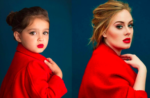 3-year-old instagram poses inspirational women Scout