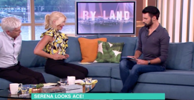 Holly Willoughby's trick for telling whether you're having a boy or a girl.