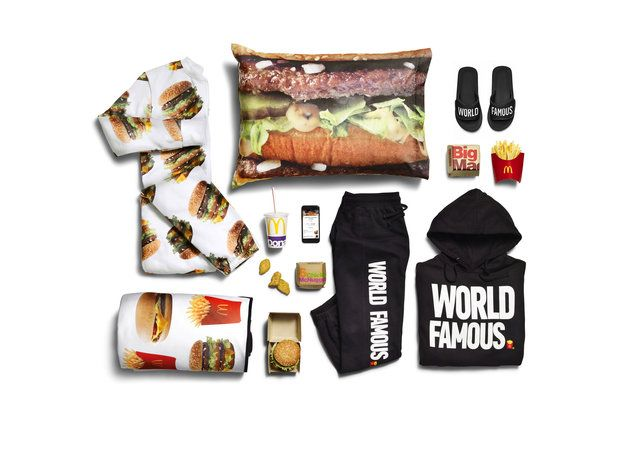 McDonald's clothes clothing McDelivery Collection