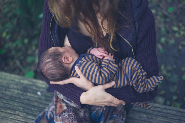 Breastfeeding while having sexual harassment