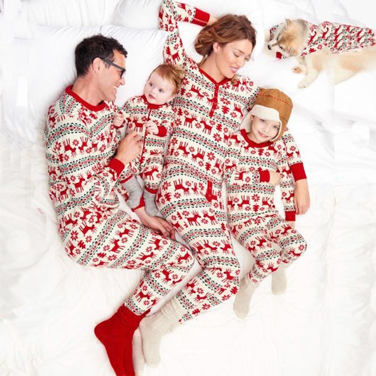 onesies would make for the coziest of christmases we think
