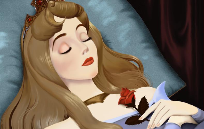 Спящая красавица смешные картинки