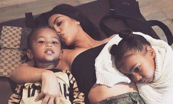 Kim Kardashian north