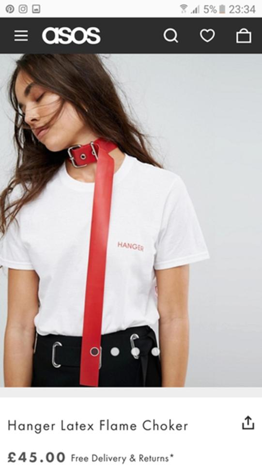 Online store ASOS criticised for fetish accessory deemed ...