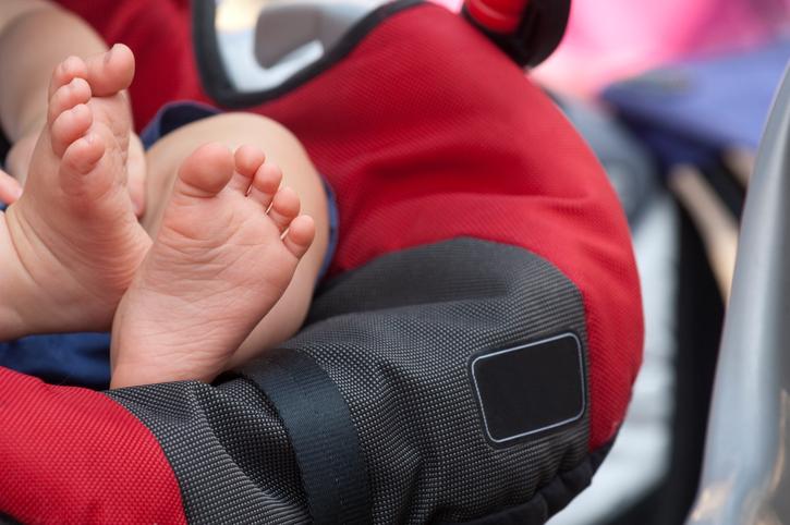 Mum shares car seat warning