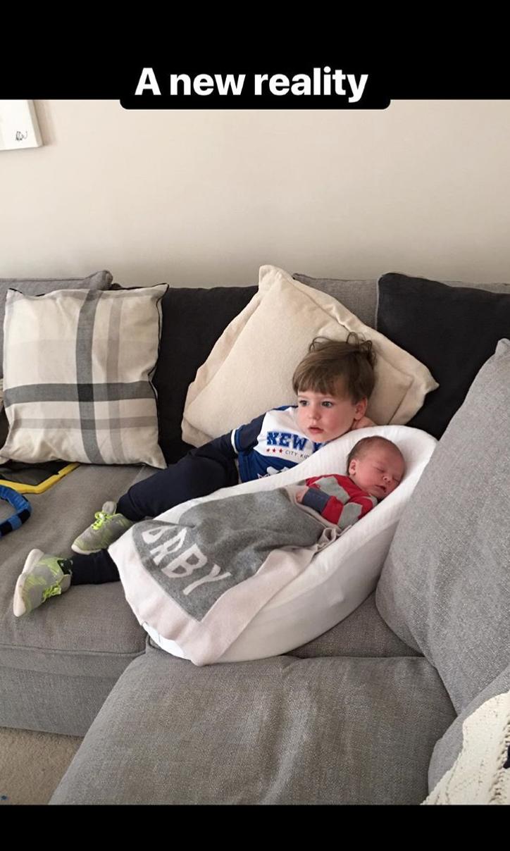 Pippa O'Connor shares adorable photos to mark son Louis's birthday