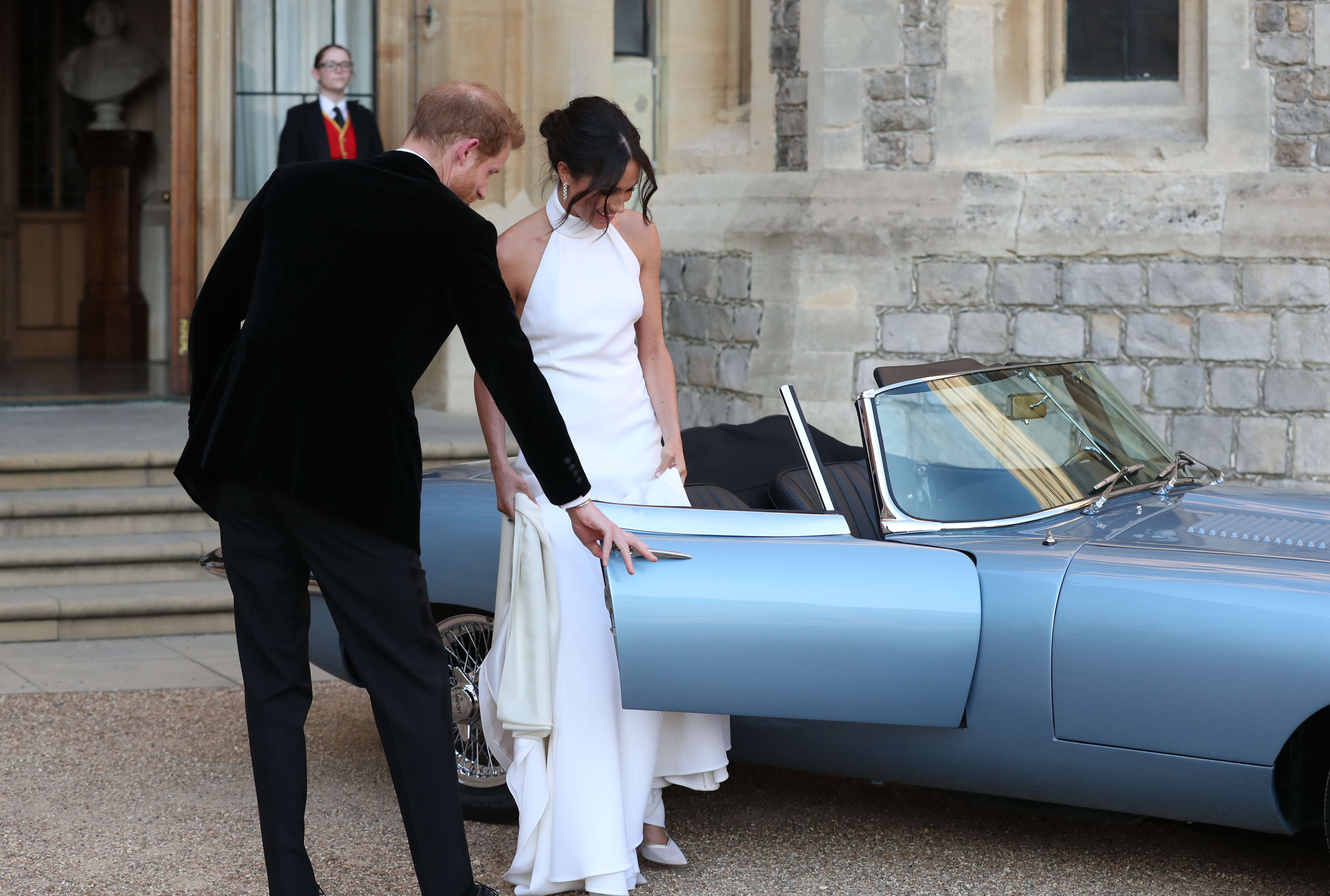 Stella McCartney reveals why Meghan wanted her to make her second wedding dress