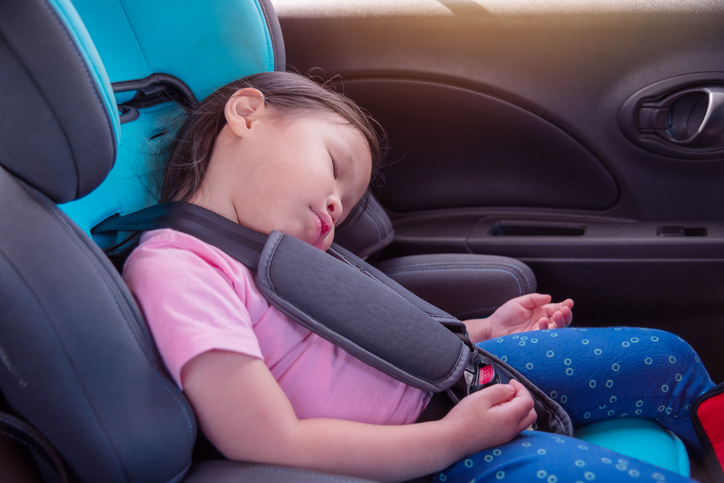 This Is A Real Danger For Babies Sleeping In Car Seats If Seatbelts Are Not Properly Secured Baby Can Slide Down Under The Belt And Block Their Airway