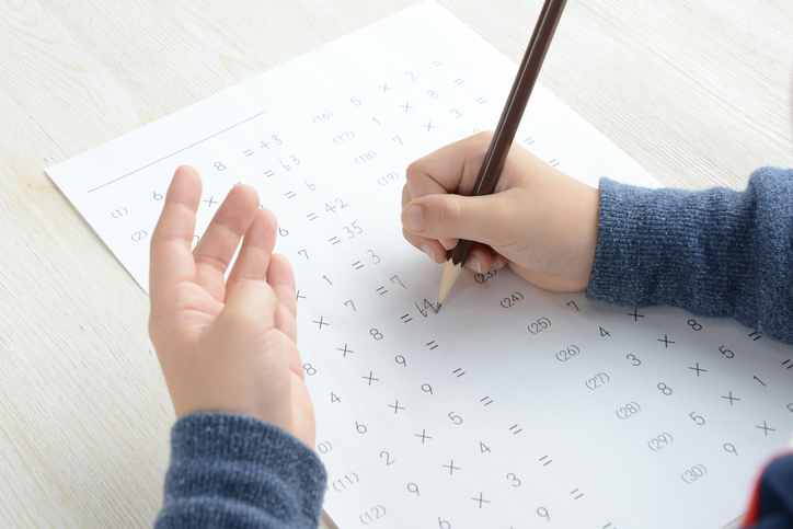 Lots of children suffer with undiagnosed maths learning difficulty, finds study