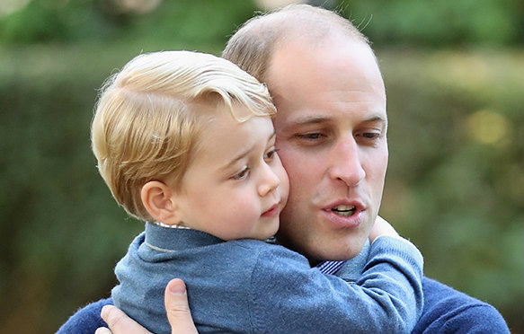 Prince George has inherited a very bold habit from his granny Princess Diana