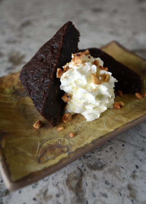 This gooey Swedish chocolate cake is ideal for dark November evenings