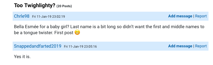Mum Wants To Know If Her Potential Baby Name For Daughter Is Too
