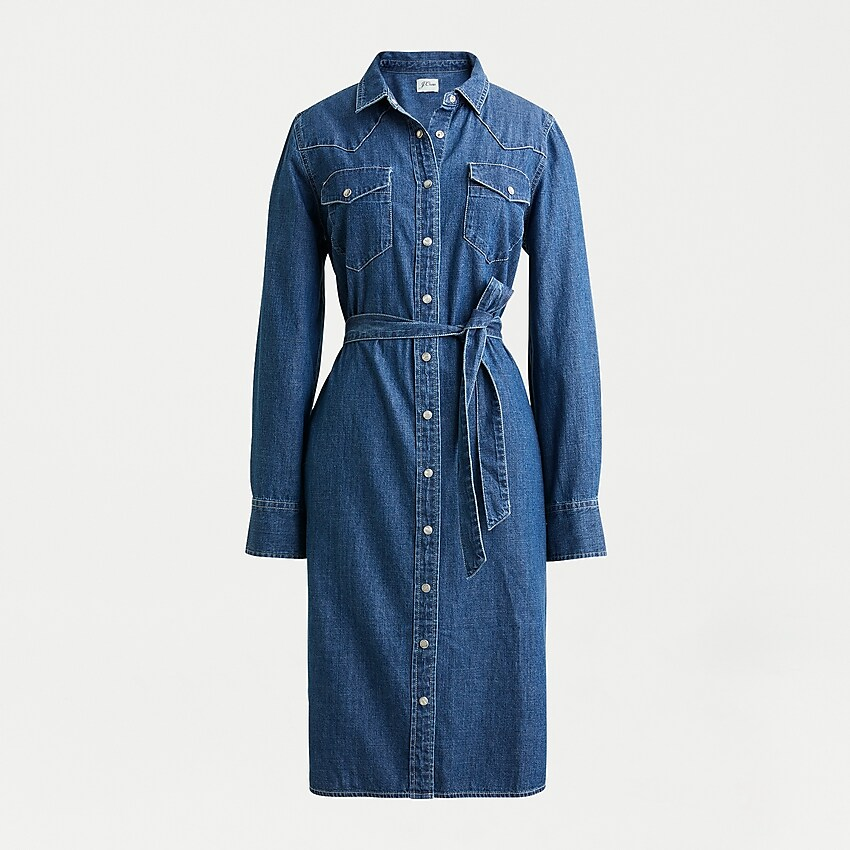Meghan Markle denim dress