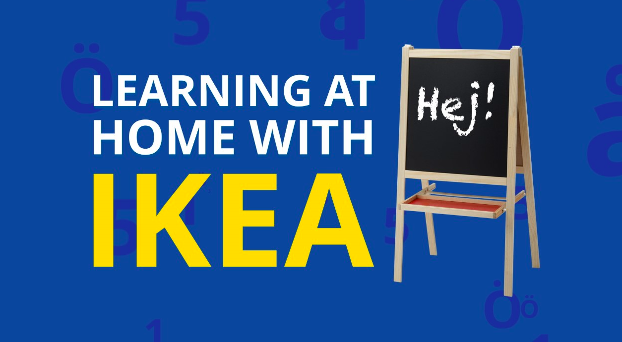 Learning at Home with IKEA