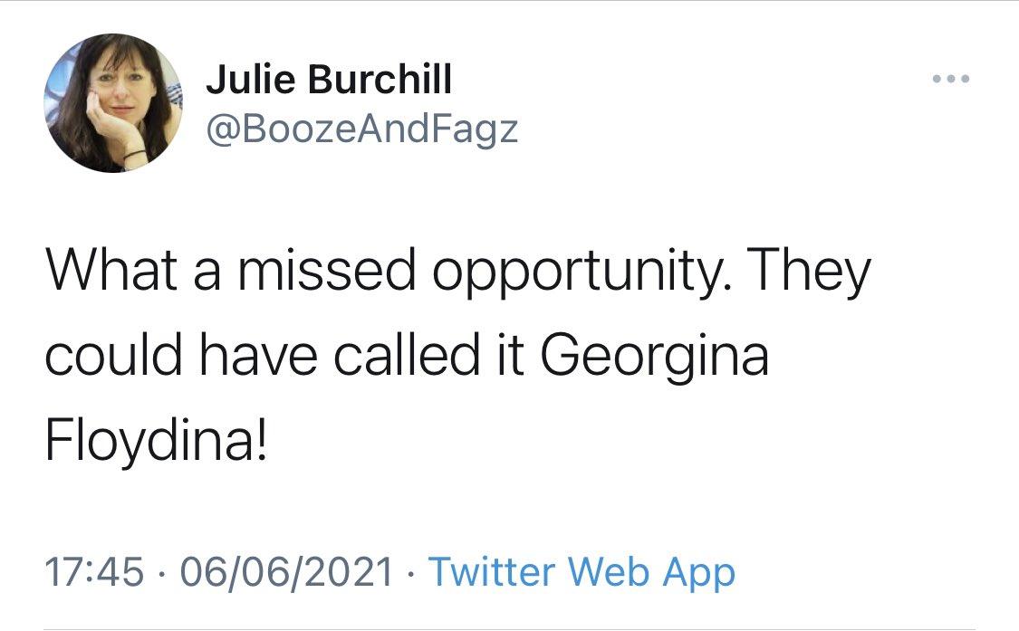 Burchill tweet